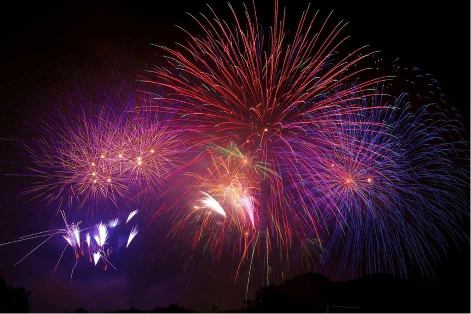 Nishinihon-Ohori-Fireworks-Festival