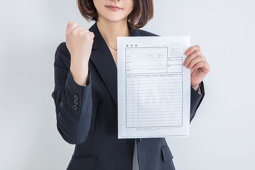 resume writing japan