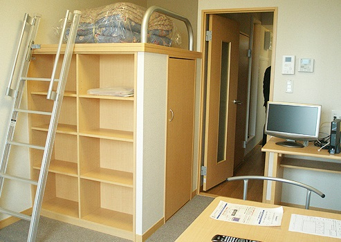Student Apartment in Japan